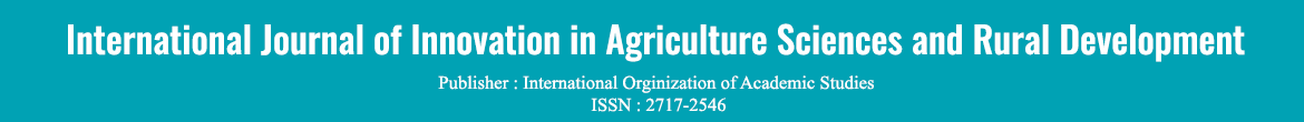 International Journal of Innovation in Agriculture Sciences and Rural Development
